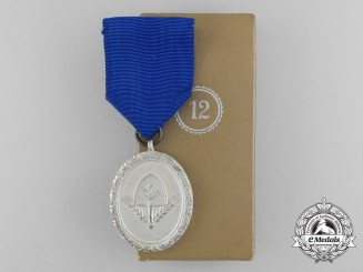 A Mint RAD Long Service Award for Men; 3rd Class in its Original Case of Issue