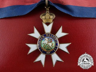 A Most Distinguished Order of St.Michael and St George; Companion Neck Badge