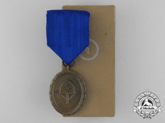 A Mint RAD Long Service Award for Men; 4th Class; In its Original Case of Issue