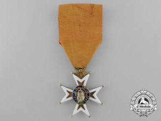 France, Napoleonic Kingdom. An Order of Saint Louis in Gold, Catholic Officers Version, c.1810