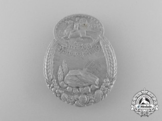 A Fine Quality 1938 Harburg-Land District Council Day Badge