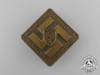 A 1934 National Socialist Mainfranken Region Day of Civil Servants