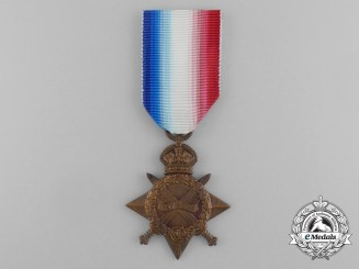 A 1914-15 Star to Private Alexander Ireland to the 8th Infantry Battalion; Wounded 1915