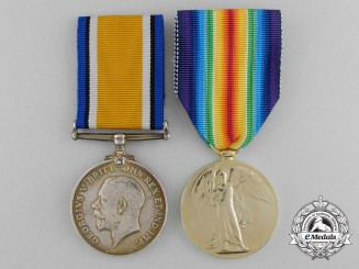 A First War Pair to Driver William S. Slinn; Canadian Army Service Corps