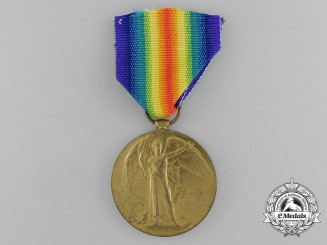 A Victory Medal to Air Mechanic 2nd Class W.R. Appleby, Royal Air Force