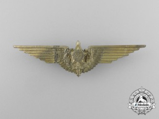 A Second War Brazilian Pilot's Badge