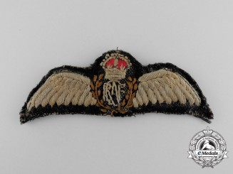A Royal Canadian Air Force (RCAF) Second War Pilot Wing