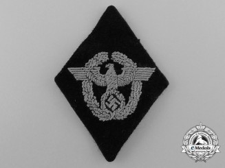A Waffen-SS Divisional Police Patch