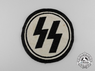 A Uniform removed Allgemeine/Waffen-SS Sport Shirt Insignia