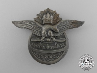 An Austro-Hungarian Imperial & Royal (K. u. K.) Flying Corps Badge