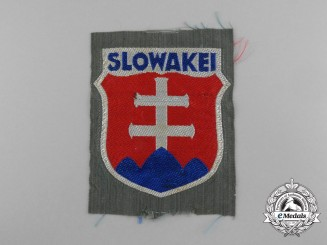 A Slovakian Volunteers Wehrmacht Arm Shield