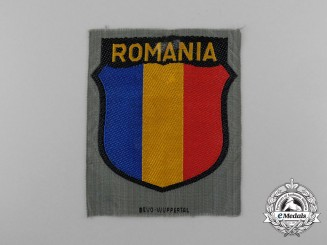 A Sarce Romanian Volunteers Wehrmacht Arm Shield