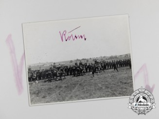 An Extremely Rare Photo Signed by Ernst Röhm Two Months Prior to his Assassination