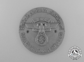 A 1938 NSKK Electoral Services Badge by Richard Sieper & Söhne
