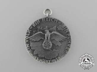 A Scarce Prototype for the Commemorative Austrian Anschluss Medal