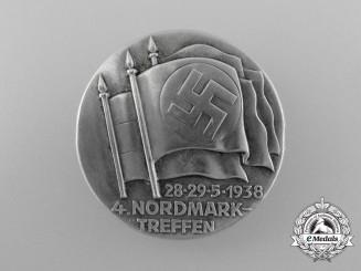 A 1938 Nordmark Rally Badge