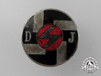 A Deutsches Jungvolk (DJ) Membership Badge