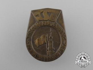 A 1935 National Socialist Movement in the Netherlands 3rd General Diet in Amsterdam Badge