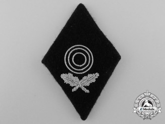 Germany, Waffen-SS. A First Class Marksmanship Diamond Badge; RZM Tagged