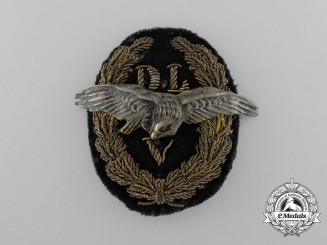 A Scarce German Air Sports Association Cap Badge