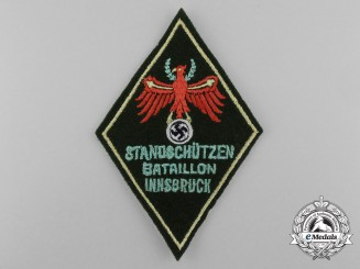 "An Innsbruck Voluntary Home-Defence ""Standschütze"" Sleeve Patch"