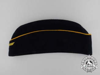 A 1944 Kriegsmarine Officer's Overseas Side Cap
