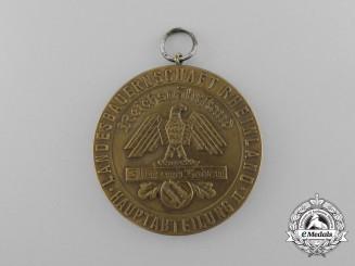 """A Blut und Boden Rheinland Landesbauernschaft """"For Exceptional Achievements in the Dairy Industry"""" Medal"""