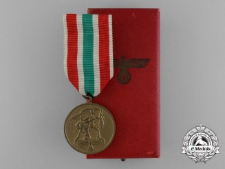 A Commemorative Return of Memel Medal in its Original Case of Issue