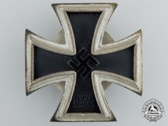 An Iron Cross First Class 1939 by Wilhelm Deumer; Screw Back Version