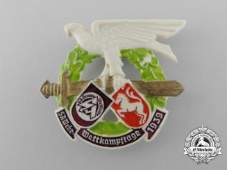 A 1939 SA Westfalen District Competition Badge