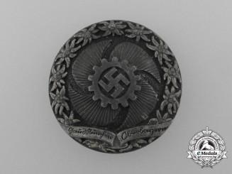 A Fine Quality District München-Oberbayern Strength Through Joy Badge