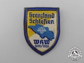 A 1938/1939 Borderland Schlesien Badge