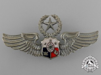 A Philippine Air Force Master Pilot Badge