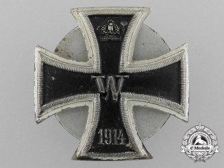 Germany, Imperial. A Iron Cross, I Class 1914, Private Purchase Screwback