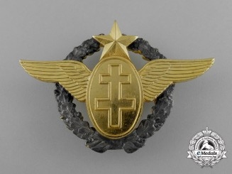 A French Air Force Pilot Badge, c. 1983