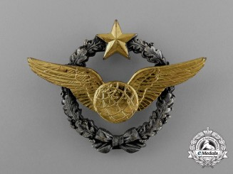 A French Air Force Navigator Qualification Badge