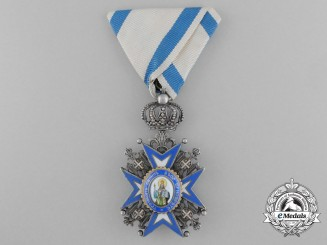 A Serbian Order of St.Sava; Knight (1921-1941)