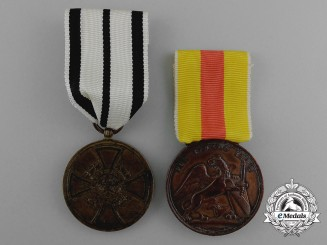 Two First War Period German Imperial Awards