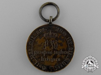 An 1813-15 Prussian War Merit Medal