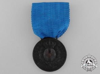 A 1943 Italian Al Valorie Militarie; Bronze Grade