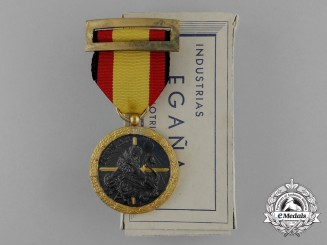 A Spanish Medal for the Campaign of 1936-1939 with Box