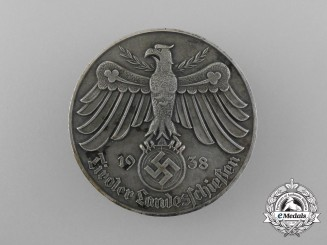 A 1938 Austrian - Tyrolean Marksmanship Award