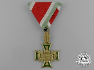 A Rare Hungarian 35/40 Year Long Service Cross