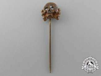A Second War Panzer Off-Duty Personnel Stick Pin