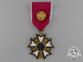 An American Legion of Merit; Officer Grade