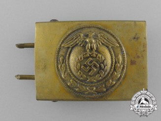 A German Youth (Deutsche Jugend = DJ) Belt Buckle