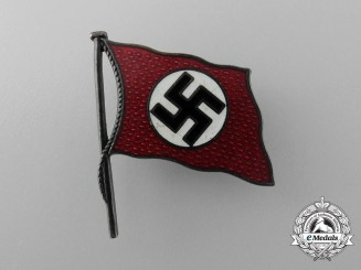 A Very Fine NSDAP Party Supporter/Member Badge