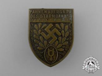A 1933 SA Sturmbann III/2 Dachau Flag Bearer Ceremony Badge