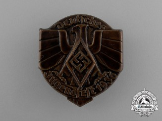 A 1936 HJ Festival of German Youths Badge