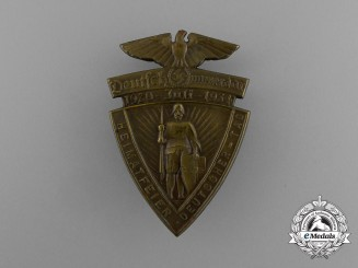 "A 1934 Homeland ""Day of Germany"" Festival Badge"
